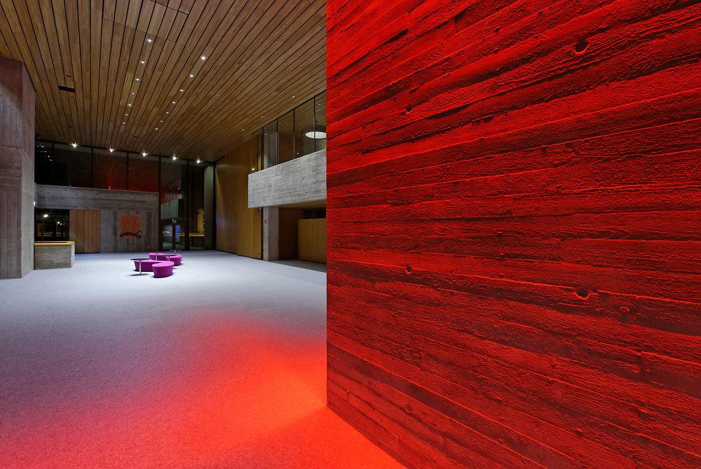 Kongress am Park Augsburg, Architekturbüro Schuller + Tham, Lichtplanung d-lightvision