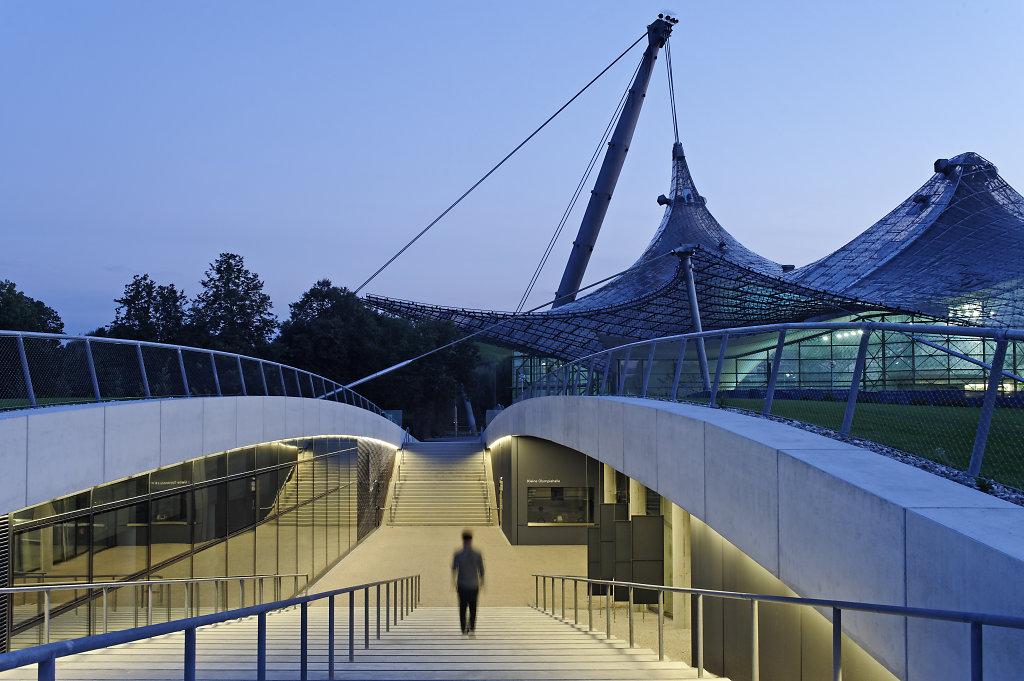 neue kleine olympiahalle m nchen architekturfotografie m nchen deutschland weltweit. Black Bedroom Furniture Sets. Home Design Ideas