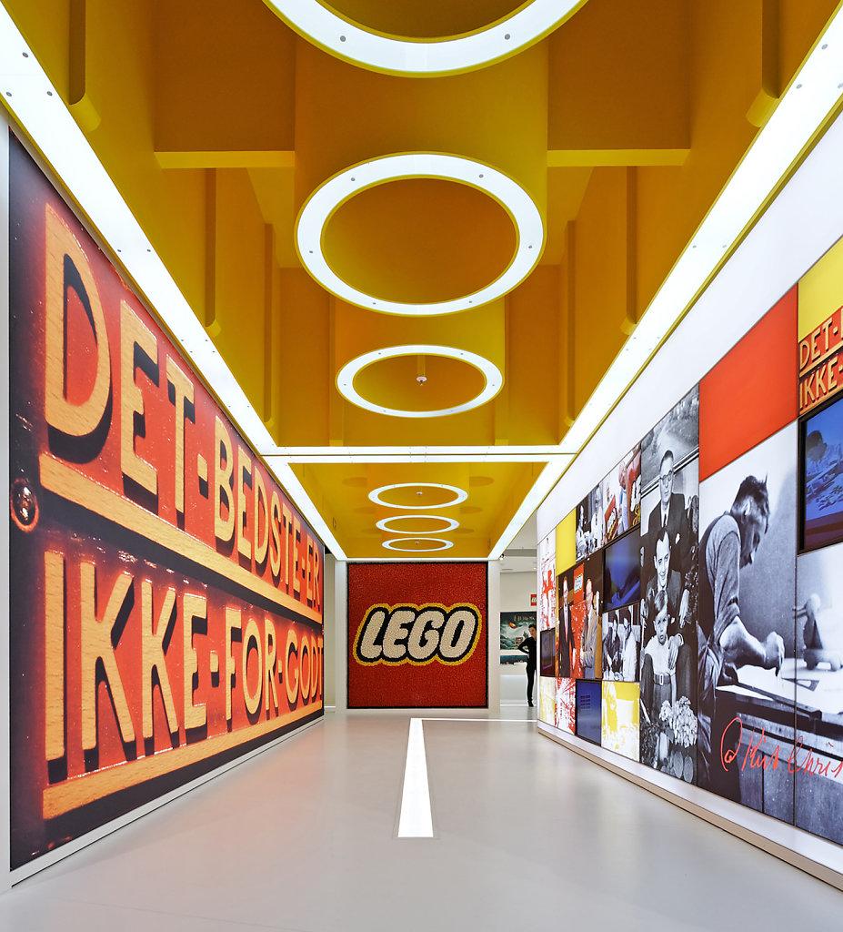 Messestand Lego, Nürnberger Spielwarenmesse